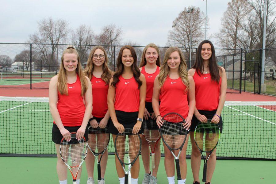 Girls Tennis wins Sectionals!