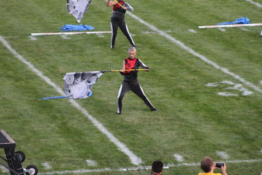 Color Guard Excited for Competition Season