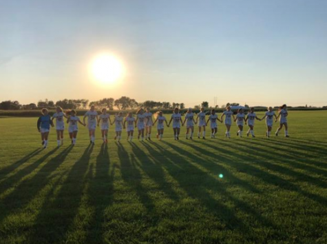 Girls Soccer Ties with Peru