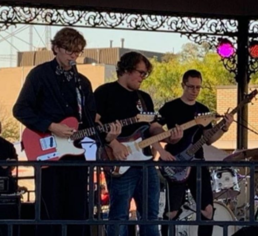 Playing in their band, the Shipp of Fools, is soon-to-be Ball State students Michael Shipp, Colton Hull and Micah Weaver. These three talented musicians are sticking together to go to the School of Music.We all have to wait and see what the future has in store for this band of TL alumni.