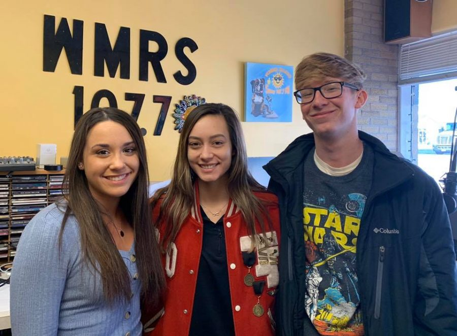 Marketing students Kiara Johnston, Krystin Roberts, Brandt Minnicus report the Tribe Radio Show.