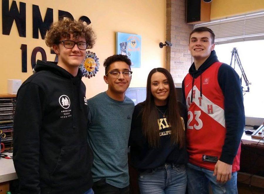 Logan Creamer, Eduardo Puga, Kiara Johnston and The Noah Johnston deliver the news on Tribe Radio.