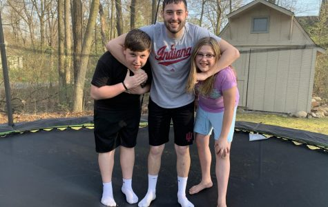 Senior Business Student Hunter Coble and his siblings Tanner (8th) and Addie (6th) are enjoying spending time together during the Covid-19 Quarantine. We miss our students!! Send us your photos to be featured.