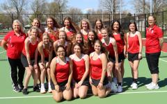 Girls Tennis Undefeated after Logansport Match