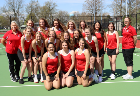 Girls Tennis Undefeated after Logansport Match