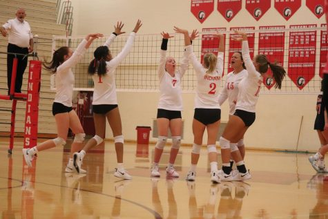 Volleyball Wins Over Logansport