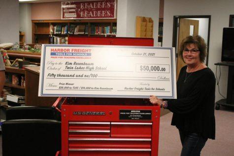 Welding Teacher Kim Rosenbaum and Twin Lakes High School Share $50,000 Award