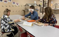 Mrs. Whitehead, Mr. Seiltz and Mrs. Swaim were seen eating lunch at the detention table today for unknown reasons. Investigation into why will be led by Lisa Wheeler. More information will be released as the investigation unfolds.